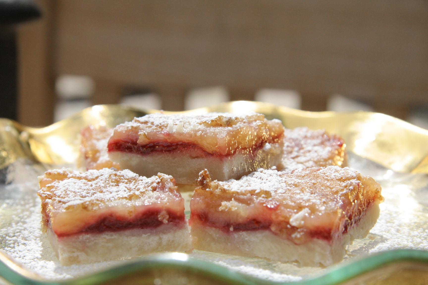 Raspberry Lemon Squares | Serendipity Saucy Spreads